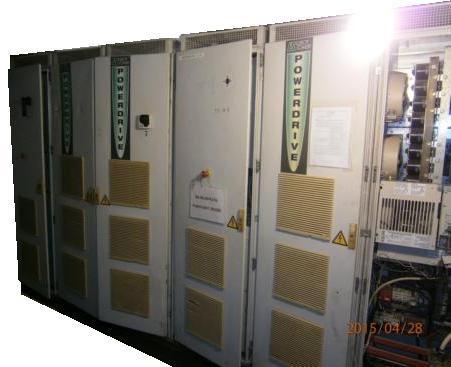 Ремонт преобразователя частоты Powerdrive MDR 400T производства Leroy-Somer