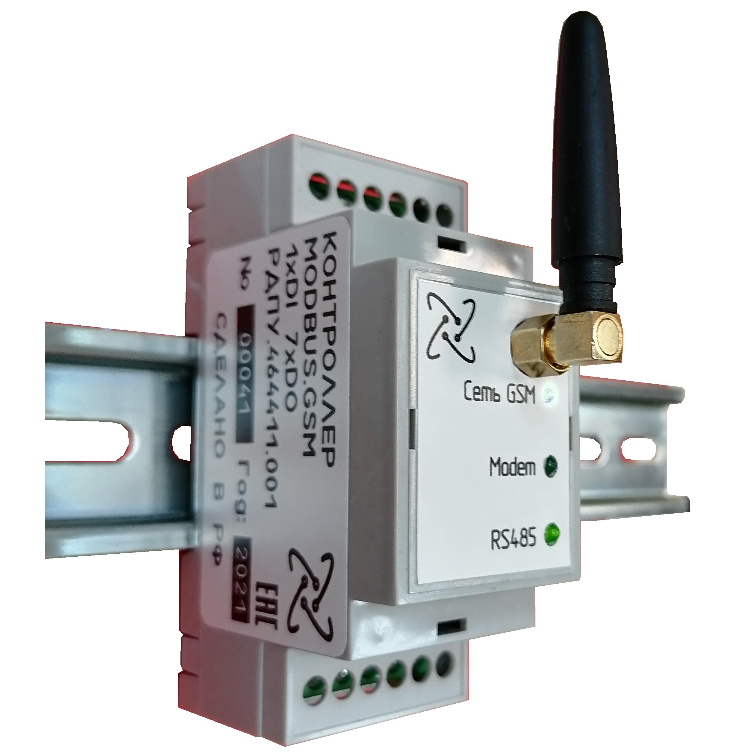 Промышленный контроллер интернета вещей proCLa-con-328P-RS485