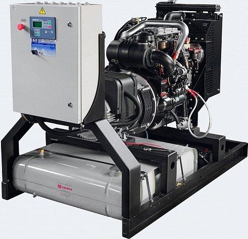 Дизель-генератор с синхронным генератором Leroy-Somer