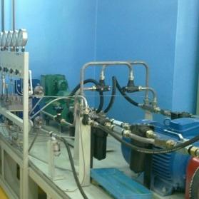 Стенд испытаний вспомогательных гидравлических агрегатов
